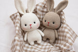 Crochet Basic Bunny- PDF Digital Download-Amigurumi Pattern- Instand Download- Language English