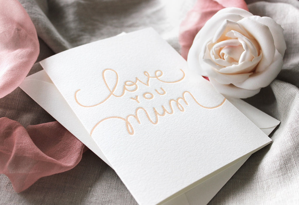 mothers day terrace press letterpress