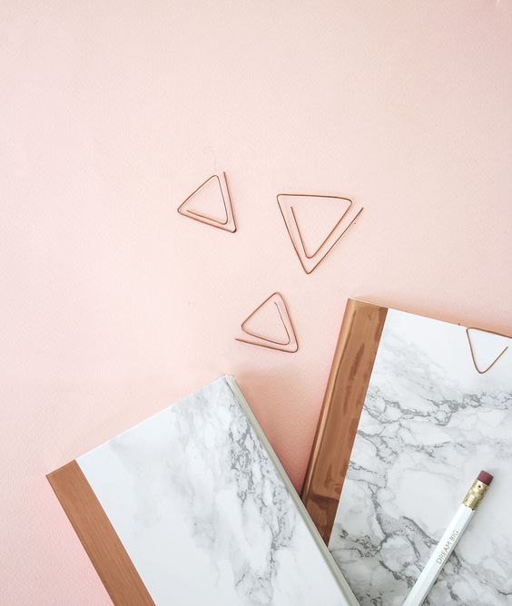 marbled stationery copper