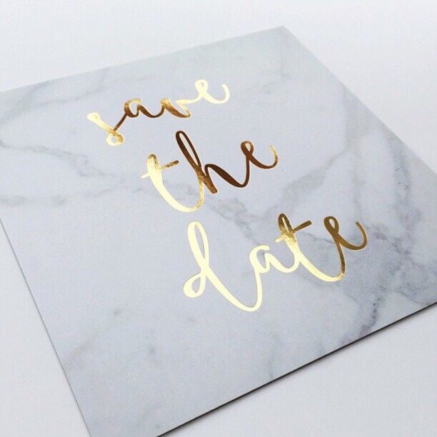 marble stationery wedding