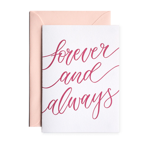 Forever and Always - Terrace Press