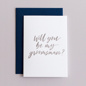 Will You Be My Groomsman? - Terrace Press