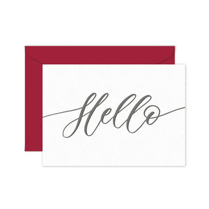 Hello - Terrace Press