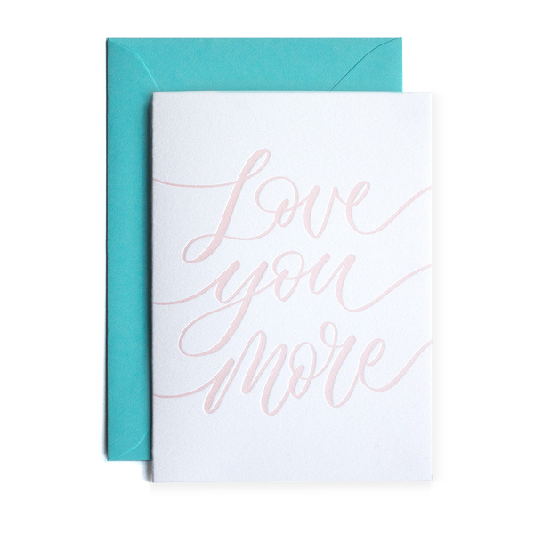 Love You More - Terrace Press