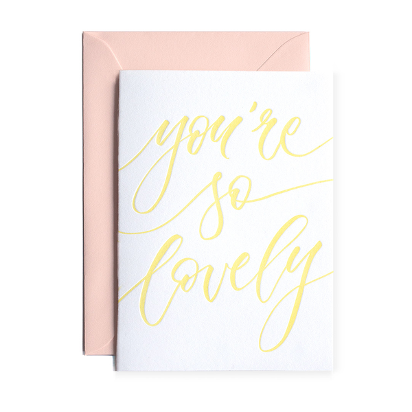 You're So Lovely - Terrace Press