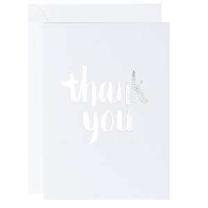 Thank You So Very Much – White - Terrace Press