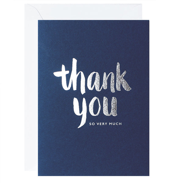 Thank You So Very Much – Navy