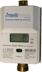 Valve-Controlled Ultrasonic Water Meter