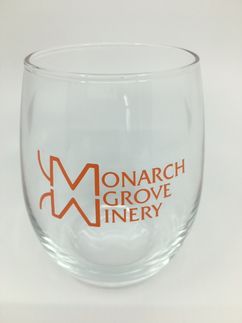 Stemless wineglass 9 oz.