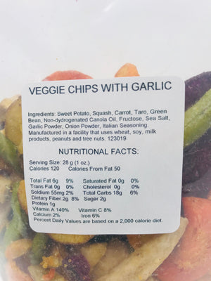 Garlic Veggie Chips