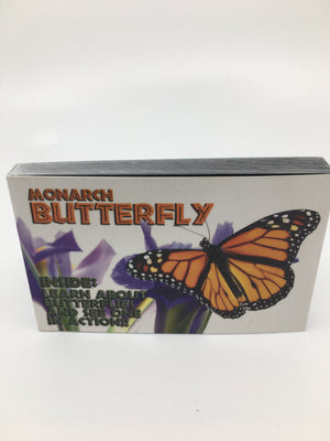 Monarch butterfly flip book