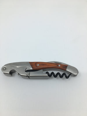 Bottle opener, corkscrew