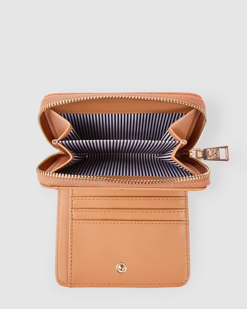 Bridget Wallet Camel