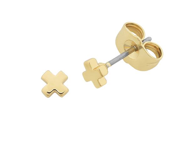 Petite Cross Earrings