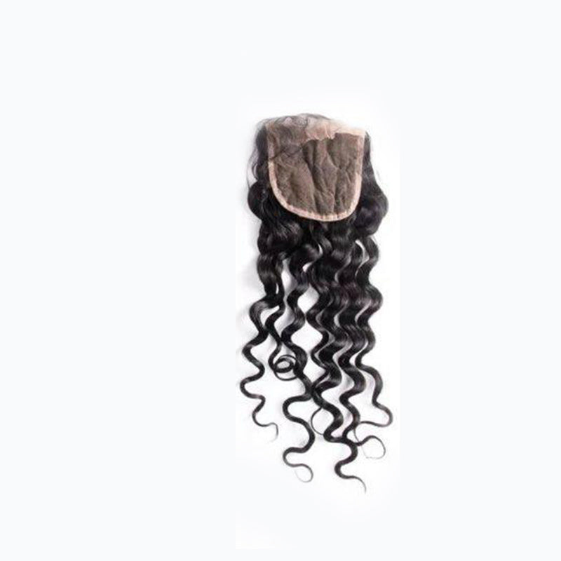 Loose Deep Wave Silk Base Closure