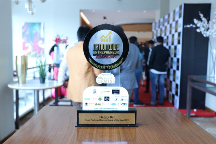 Awarded the Best Energy Snack 2019 - Mint Business Awards