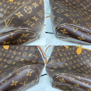 Louis Vuitton Monogram MM Neverfull Tote