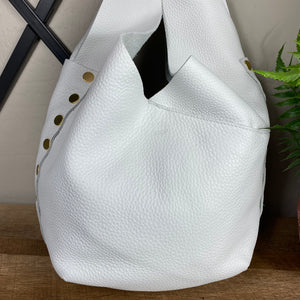 Hammitt Tom Leather Rivet Hobo