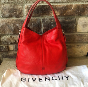 Givenchy Tinhan Eclipse Leather Hobo Bag