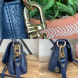 Tory Burch 797 Leather Satchel Crossbody