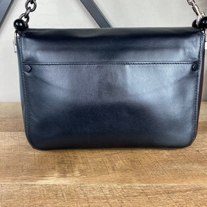 Proenza Schouler Leather Pom Pom Courier Bag