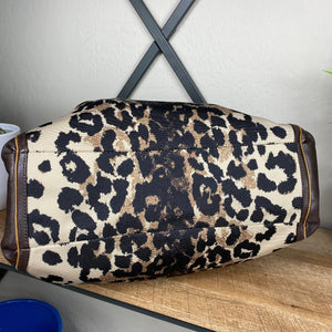 Coach Madison Ocelot Phoebe Animal Leopard Bag