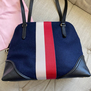 Kate Spade Carolyn Felt Bowling Satchel Bag