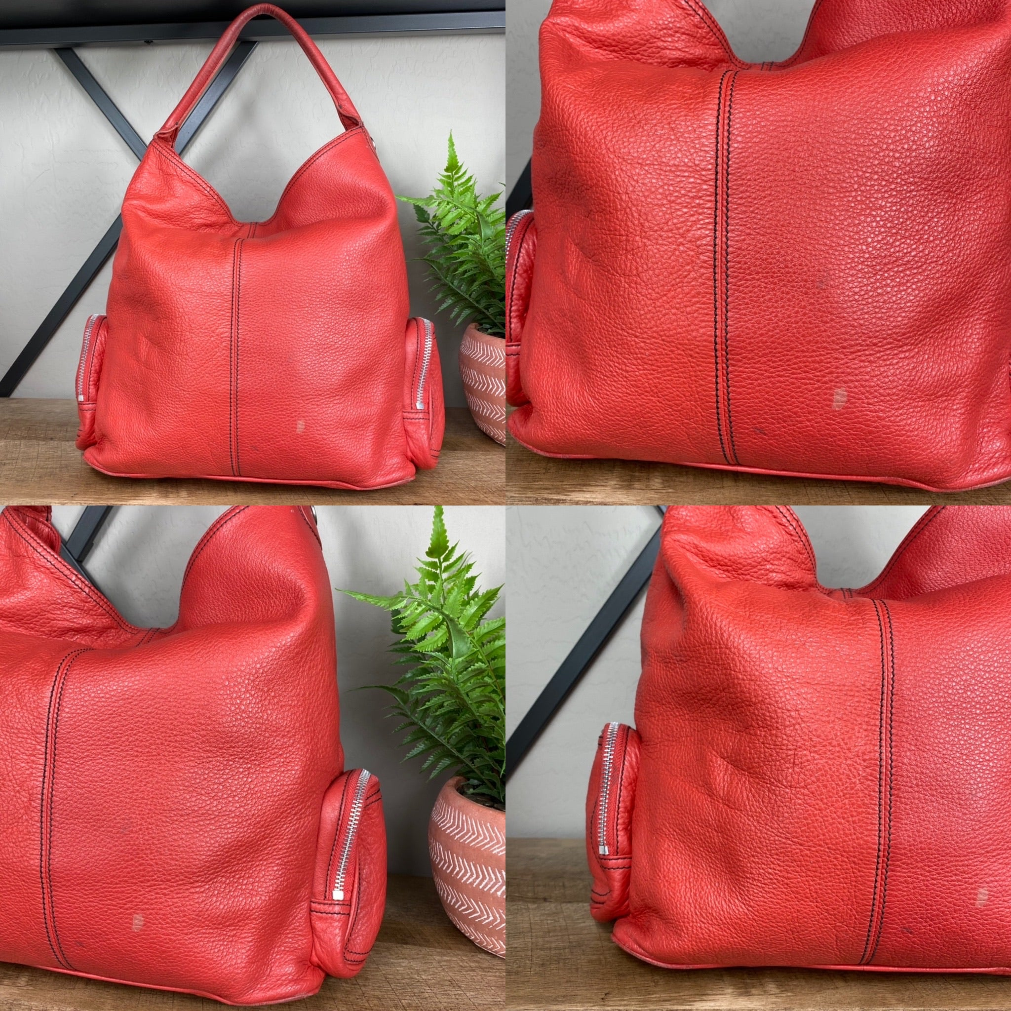 Marc Jacobs Large Blake Leather Hobo