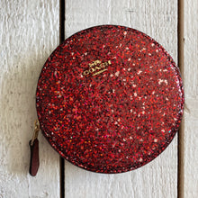 Load image into Gallery viewer, Coach Sparkle Change Coin Purse