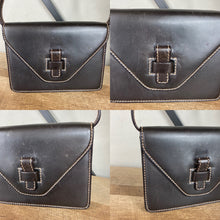 Load image into Gallery viewer, Gucci Stitched Leather Vintage Clutch Crossbody