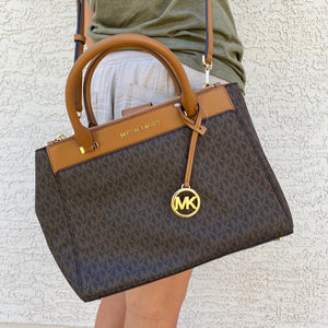 Michael Kors Gibson Large Satchel Crossbody