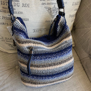 The Sak Sequoia Crochet Woven Shoulder Bag