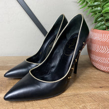 Load image into Gallery viewer, Yves Saint Laurent YSL Studded Stiletto Leather Heel