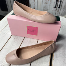 Load image into Gallery viewer, Kate Spade Kora Leather Ballet Flat