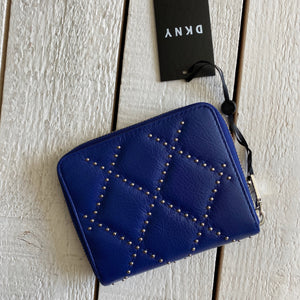 DKNY Sofia Studded Zip Around Wallet