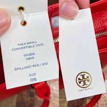 Load image into Gallery viewer, Tory Burch Thea Small Convertible Tote Bag