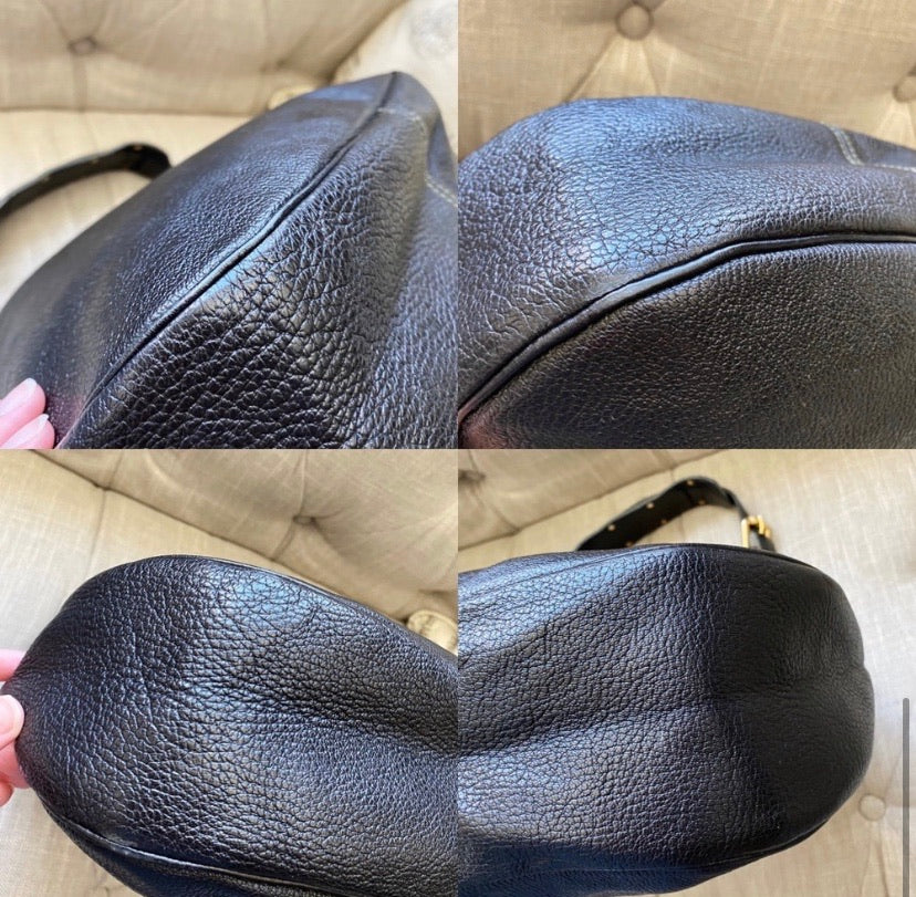 Louis Vuitton Suhali LAffriolant Hobo Shoulder Bag