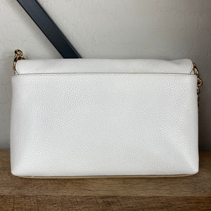 Coach Crosstown Polished Pebble Leather Crossbody