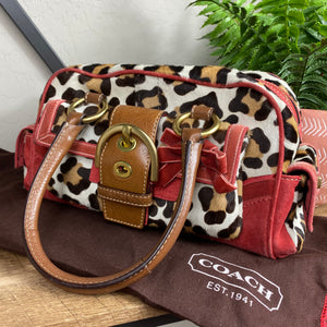 Coach Limited Edition Ocelot Soho Satchel