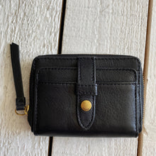 Load image into Gallery viewer, Fossil Fiona Zip Coin Leather Wallet