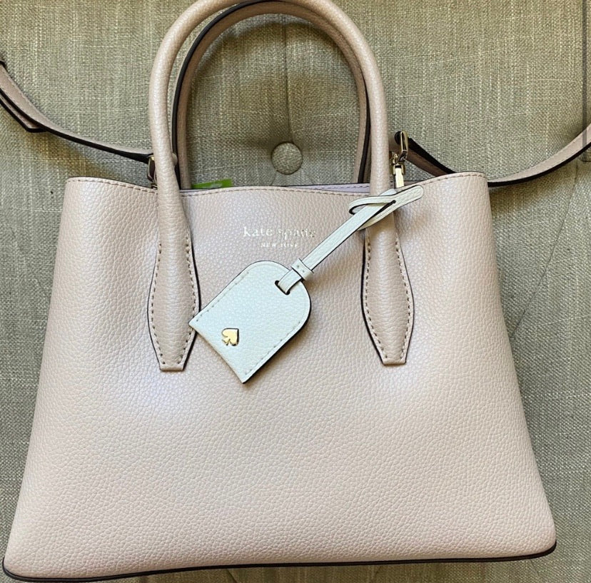 Kate Spade New York Eva Leather Satchel Crossbody