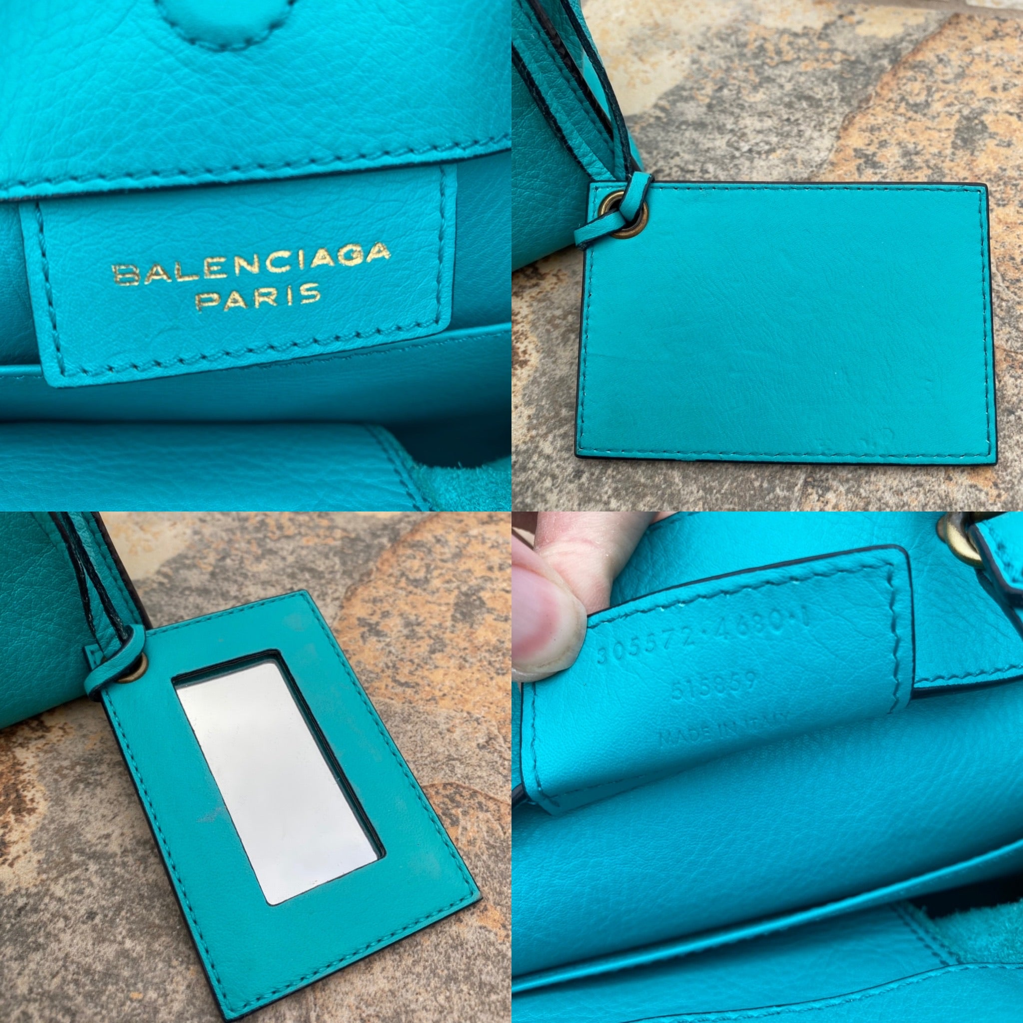 Balenciaga Mini Papier A4 Crossbody Bag