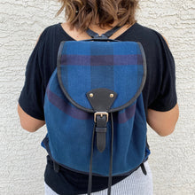 Load image into Gallery viewer, Burberry Medium Chiltern Canvas Check Backpack