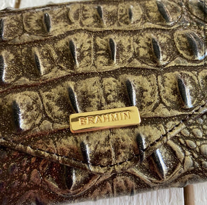 Brahmin Veronica Umbra Melbourne Leather Wallet