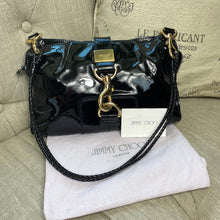 Load image into Gallery viewer, Jimmy Choo Patent Leather Lauren Shoulder Bag