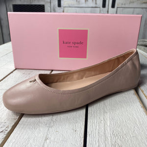 Kate Spade Kora Leather Ballet Flat