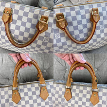 Load image into Gallery viewer, Louis Vuitton Azur Speedy 30 Satchel