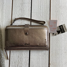 Load image into Gallery viewer, The Sak Wallet Wristlet Metallic Shoulder Bag