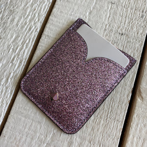 Kate Spade Sparkle Adhesive Card Holder