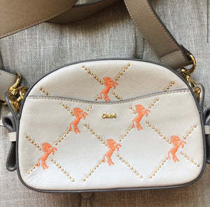 Chloé Little Horses Embroidered Crossbody Bag